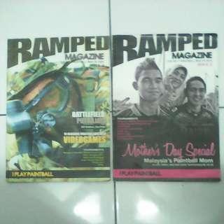 Majalah Paintball Ramped Magazine Issue 2 & 3