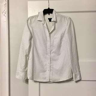 JCrew Boyfriend Style Shirt Sz XS