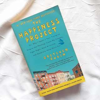 The Happiness Project By Gretchen Rubin (REPRICED)