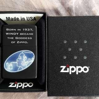 美國原裝 Zippo 全新打火機 風   New Zippo Lighter : Windy