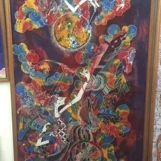 BaLi 峇厘島,異國風景,藝術畫作