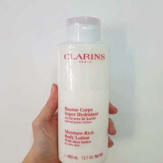 Bnew Clarins Moisture Rich Body Lotion 400ml
