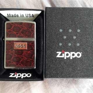 美國原裝 全新Zippo打火機1951  New Zippo Lighter:1951