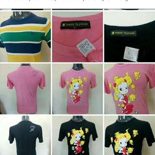 New t-shirt,new pic, new look, all bundle item