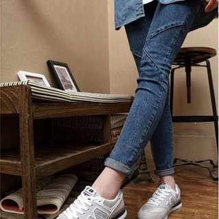 nb新款韓版潮鞋男女鞋灰色夏季情侶時尚潮流透氣運動休閑鞋學生板鞋