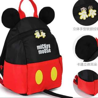 Gorgeous lightly used Mickey Mouse bag for toddler up to 3.5 years old