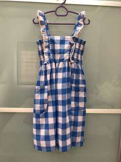 Cotton On 4T Checkered Dress