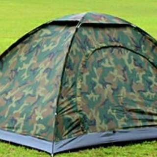全新迷彩露營帳篷
