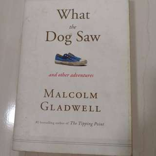 What The Dog Saw & Outliers by Malcolm Gladwell (2 books)