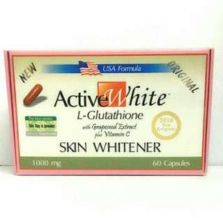 Active White L-Glutathione Capsule