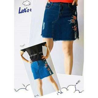 New arrival Maong skirt Size s -xl