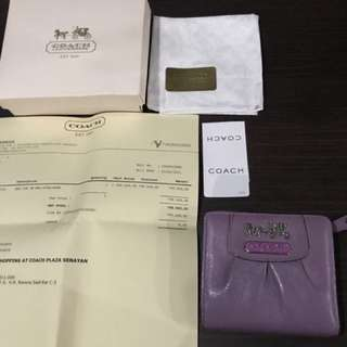 (Preloved) Coach Wallet Authentic
