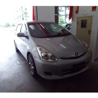 Toyota Wish 1.8A UBER GRAB PERSONAL Rental