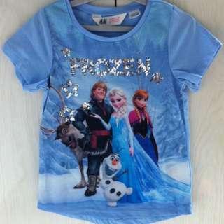 BN H@M Disney Frozen Tee