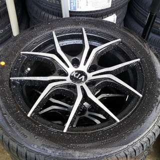 "Kia K3 16"" Stock Rim and Tyres (TRADE BACK FROM NEW CAR)"
