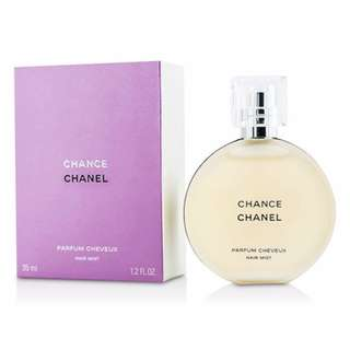 Chanel Chance Parfum cheveux Hair Mist 35ml, made in France