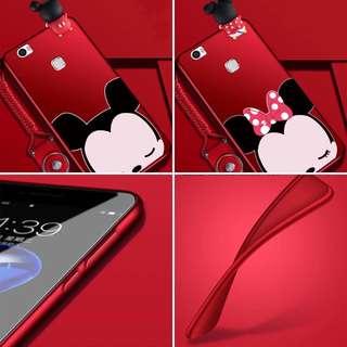 Huawei v8 Mickey Minnie couple casing