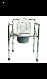 REPRICED Sureaid Foldable Bedside Commode Chair Orig Price is 2500. Used as display only.