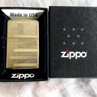 美國原裝 全新Zippo打火機 New Zippo Lighter
