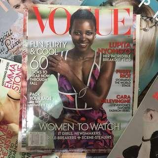 LUPITA N'YONGO Vogue Magazine