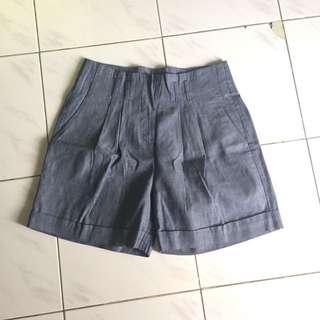 Stripe short pants