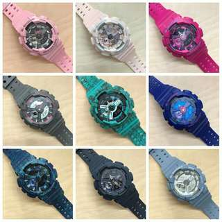 Gshock... Cool summer colors😊