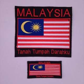 """Patch """"Malaysia - Tanah Tumpah Darahku"""""""