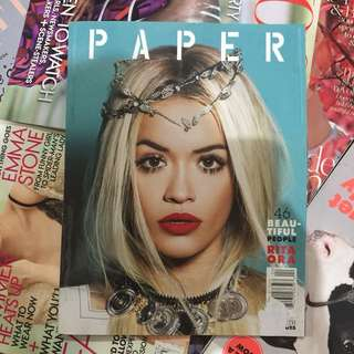 RITA ORA Paper Magazine