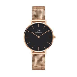 Daniel Wellington Black Face Classic Petite Melrose(28mm/32mm)
