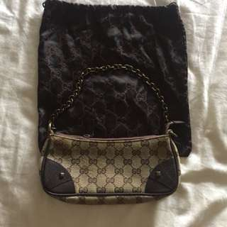 GUCCI monogram hand/ shoulder bag
