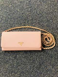 Prada authentic wallet