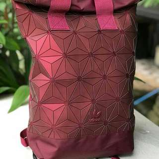 Adidas 3D Backpack Maroon