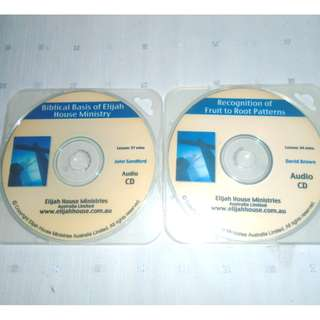 Charity Sale! Set of 2 Biblical Teachings Audio CD