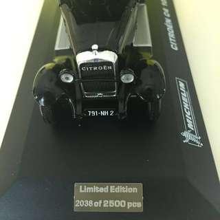 Michelin Citroen C4 limited edition miniature (1unit)
