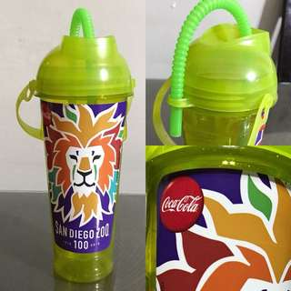 Coco cola drink bottle