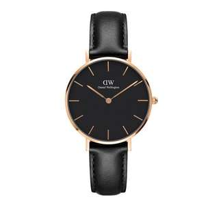 Daniel Wellington Black Face Classic Petite Sheffield(28mm/32mm)