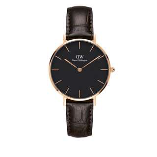 Daniel Wellington Black Face Classic Petite York(28mm/32mm)