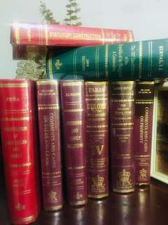 Pre-loved Law Books