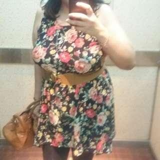 Floral Dress plus size