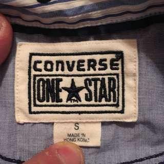 👕💯% authentic converse Allstar button down