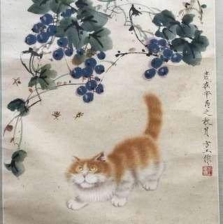 画家方工69x45cm Chinese painting