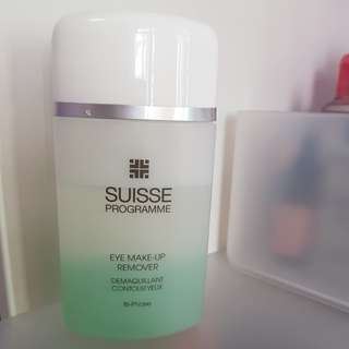 SUISSE eye makeup remover