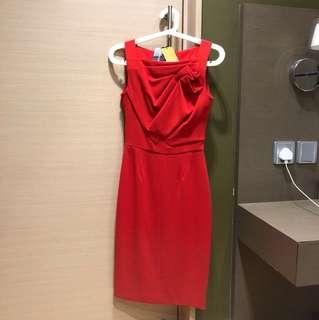 全新Karen Millen red dress