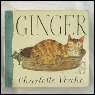 Pre-loved ginger book