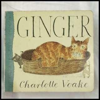 Pre-loved ginger book