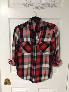 Dynamite Plaid Shirt