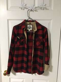 Roots (Beaver Canoe) Plaid Shirt