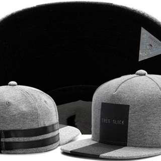 Grey Tres Snapback