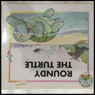 Pre-loved roundy the turtle book