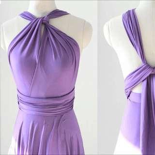 Twenty3 Convertible Infinity Dress Lavender #FEB50
